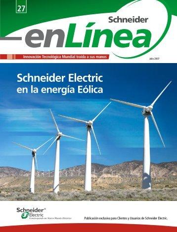 """Revista """"Schneider enLínea"""" Julio 2007 - Schneider Electric"""