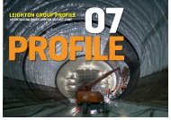 Leighton Group Profile, August 2007 - Leighton Holdings