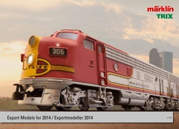 Export Models for 2014 / Exportmodeller 2014 - ToToTrains
