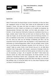 131225_ms_Krahe_Josephs Geschichte - WDR 3