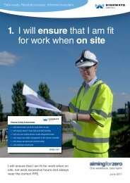 Personal Safety Commitments
