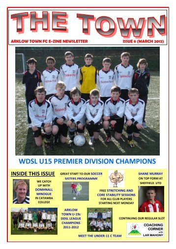 Arklow Town FC Newsletter