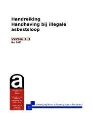 Handreiking Handhaving bij illegale asbestsloop - Vereniging BWT ...