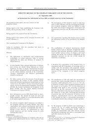 DIRECTIVE 2005/44/EC OF THE EUROPEAN ... - EUR-Lex