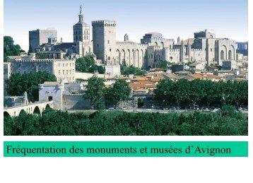 Evolution de la fréquentation du Palais des Papes et ... - Atout France