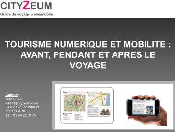 Comment le numérique rend possible la fourniture de ... - Atout France