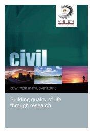 Department Program Brochure - The Schulich School of ...