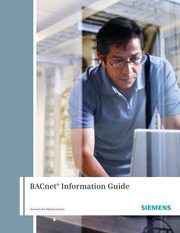 BACnet® Information Guide - Siemens