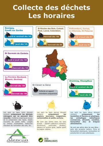 Ancenis nord calendrier de collecte des d chets pdf 217 ko for Horaire piscine alencon