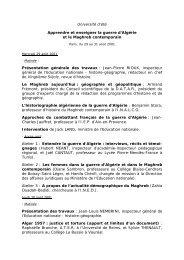 Université d'été - Histoire géographie Dijon