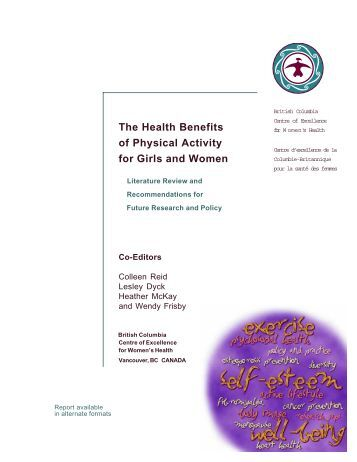 The Health Benefits of Physical Activity for Girls and Women