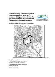 Vorhabenbezogener Bebauungsplan Bebauungsplan Nr. 70/24 (VEP)