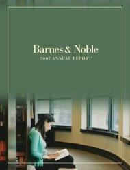 annual report - Barnes & Noble, Inc.