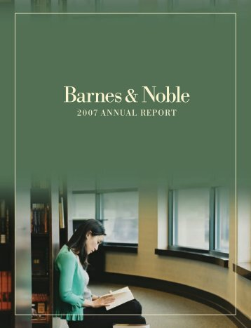 annual report - Barnes & Noble, Inc.