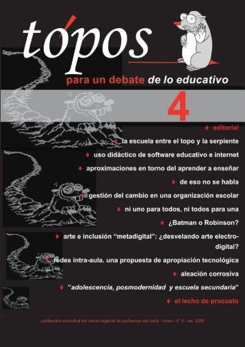 La escuela entre el topo y la serpiente. - Uruguay Educa