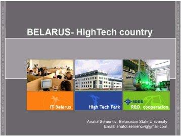 Belarus - QMUL IEEE Student Branch
