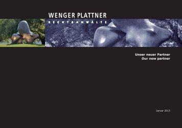 Stephan Kesselbach neuer Partner seit 1. Januar ... - Wenger Plattner