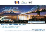 Melanoma Research: - Society for Immunotherapy of Cancer