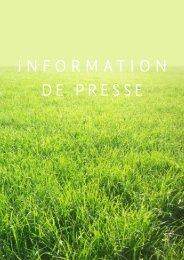INFORMATION DE PRESSE - Cross Border Network