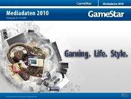 Mediadaten 2010 - GameStar.de