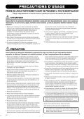 1 Appuyez sur la touche [PAD] - Yamaha - Page 3