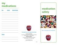 medication safety my medications - The Health Plan