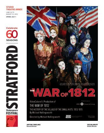 the war of 1812 - Stratford Festival