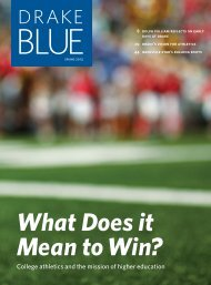 Blue Magazine Spring 2013 - Drake University