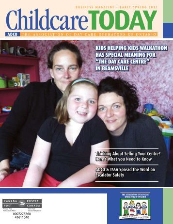 the day care centre - ADCO :: The Association of Day Care ...