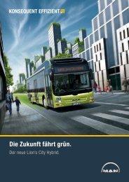 Die Zukunft fährt grün. - MAN Truck & Bus Schweiz AG