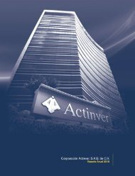 Reporte Anual 2010 - Actinver
