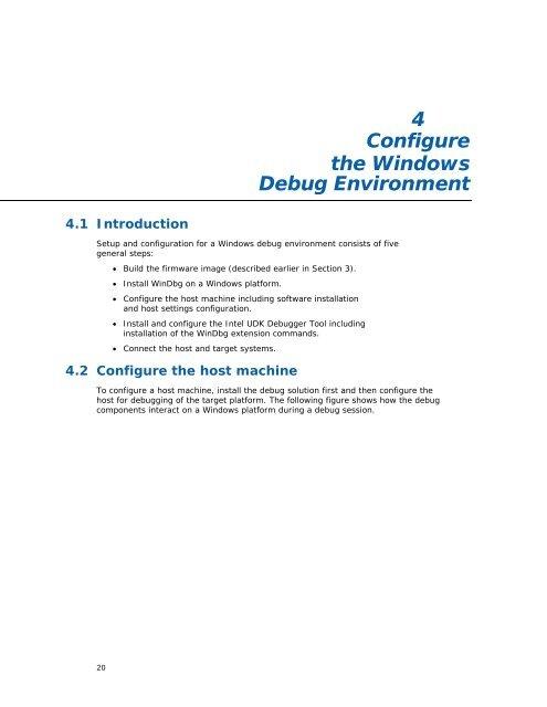 4 Configure the Windows D