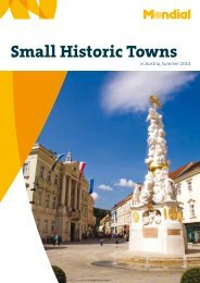 Small Historic Towns in Austria - Mondial Travel