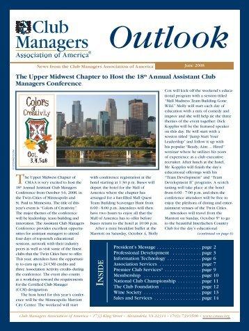 Outlook Newsletter - CMAA