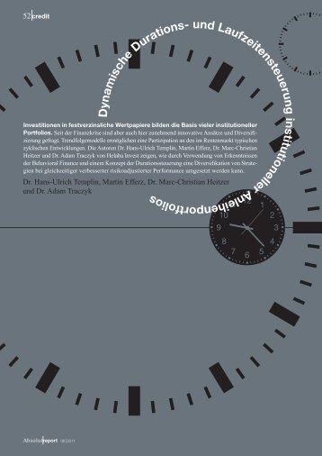 Bestellung der Ausgabe Absolut Report 6/11 - Helaba-Invest