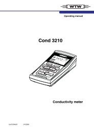 Cond 3210 - Global Water Instrumentation, Inc.