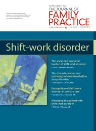 Shift-work disorder - myCME.com