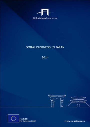Doing Business in Japan 2014(1)