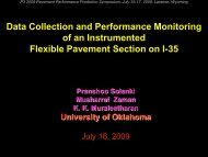 Data Collection and Performance Monitoring of an Instrumented ...