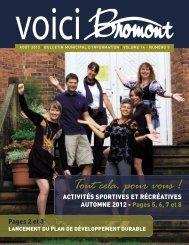 voici_bromont_vo l14_no3.pdf - Ville de Bromont