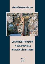 Operativní průzkum a dokumentace historických staveb - FF UJEP