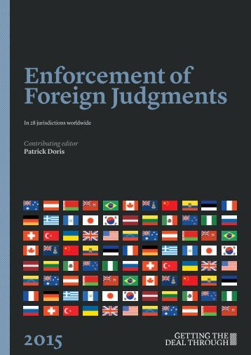 Latvia.Getting the deal through.Enforcement of Foreign Judgements.2014-11-04.eng