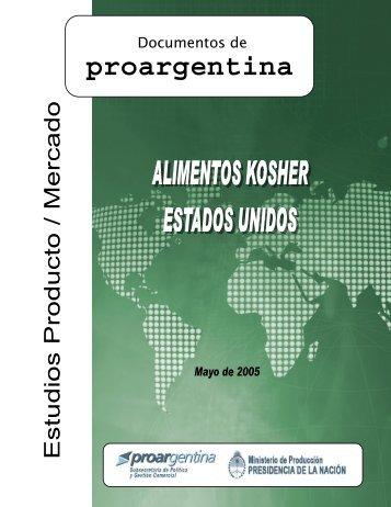 mercokosher division alimentos kosher - ProArgentina.Gov.Ar