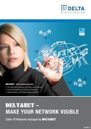 DELTANET – MAKE YOUR NETWORK VISIBLE - DCT Delta
