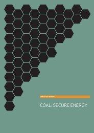 COAL: SECURE ENERGY - World Coal Association