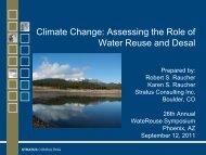 Climate Change - WateReuse Association