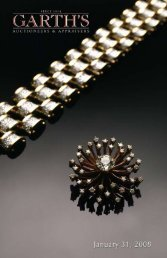 Download Garth's Fine Jewelry Auction Catalog - Garth's Auctions, Inc.