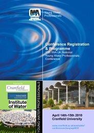 Advance Programme - IWA