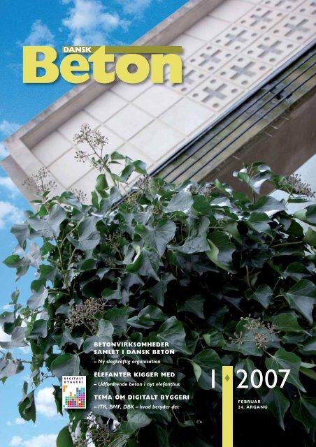 Download blad nr. 1-2007 som pdf - Dansk Beton