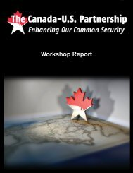 Canada-US Report.indd - Institute for Foreign Policy Analysis